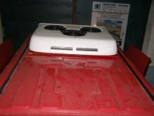 Накрышный блок БК-0002 на Iveco Daily