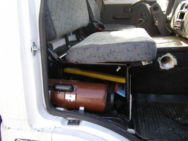 Автономный отопитель Планар Д4 на автомобиле Тата