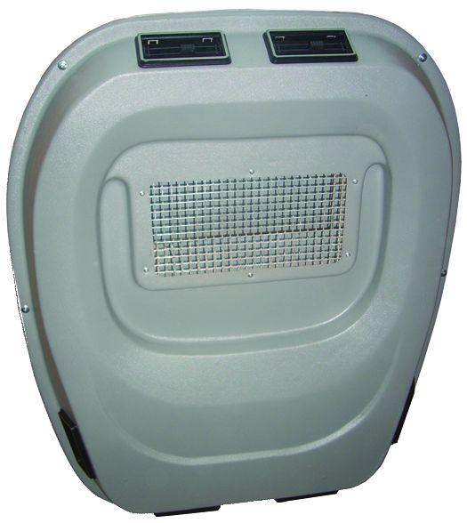 Внутри салонная панель дефлекторов для автокондиционера