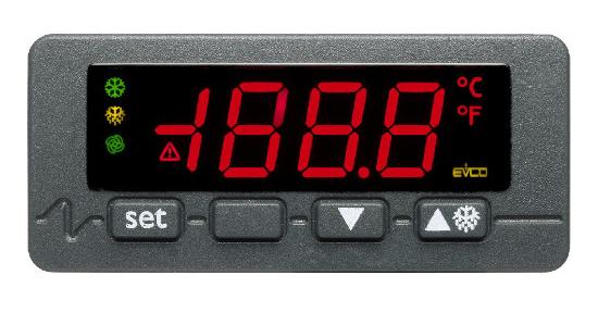 Температурный контроллер EVCO холодильной установки RT-100